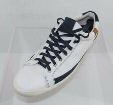 Men's 7 For All Mankind Calvin Black/White Fabric Sneakers Size 11.5 M