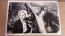 1934 Movie TREASURE ISLAND Jackie Cooper Wallace Beery Long John Silver Photo