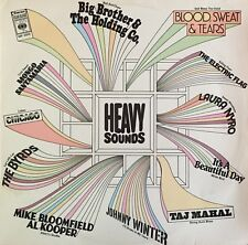 HEAVY SOUNDS LP Laura Nyro  Taj Mahal  Byrds  Johnny Winter  Electric Flag