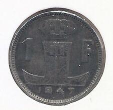1 frank 1947 vlaams/frans * Prachtig * PRINS KAREL * nr 9062