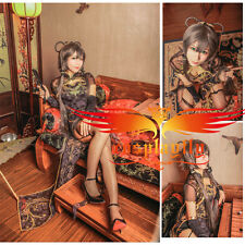 Vocaloid TDA Luo Tianyi Periwig Just Cosplay Wig Matched Black Canary Cheongsam