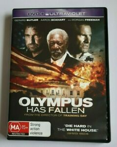 Olympus Has Fallen Morgan Freeman PAL DVD R4 VGC