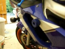 YAMAHA YZF600 YZF750 R6 FAIRING CRASH MUSHROOMS SLIDERS BOBBINS BUNG BLUE   R8C1