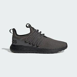 Mens Adidas Lite Racer Adapt Wide Grey Athletic Slip On Shoe GV9689 Sizes 9-14