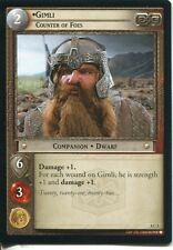Lord Of The Rings CCG Card SoG 8.C5 Gimli, Counter Of Foes