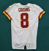 #8 Kirk Cousins of Washington Redskins NFL Locker Room Game Issued Jersey