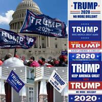 President Donald Trump Flag 2020 Keep Make America Great MAGA 3x5 Ft Banner USA
