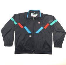 5e4963ec34e0 PUMA International Mens L Full Zip Sweatshirt Logo Black L S European 90s  VTG