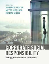 Corporate Social Responsibility : Strategy, Communication, Governance: By Ras...