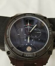 MTM Special OPS Black Predator II Chronograph Tactical Military Watch