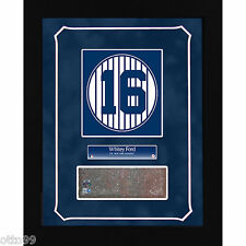 WHITEY FORD NY YANKEES STADIUM GAME USED MONUMENT PARK RETIRED #16 BRICK PLAQUE