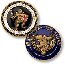NEW Armor of God - U.S. Army Reserve Challenge Coin. 60865.