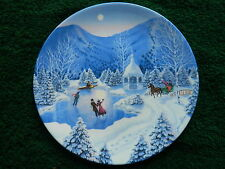 "Bradford Exchange Plates Complete Set ""The Spirit of Christmas"" Series"