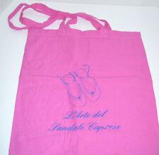 L'Arte del Sandals Caprese Shoes Tote Bag Dust Bag 14 x 16 w/ Handles