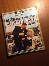 signed sports illustrated-Jerry Kramer Dr Z's Great Moments In Super Bowl