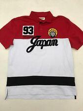 """Iro Ochi Yamagata Warriors Ky�to Japan Red White Black """"Polo� Style Mens Medium"""
