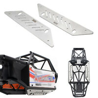 1 Pair KYX Stainless Steel Chassis Guard Plates for Axial Capra UTB RC Car Model