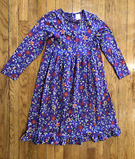 Hanna Andersson Flowered Dress - Girls 140 US 10