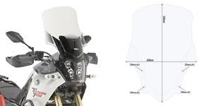 Givi D2145ST SCREEN Yamaha Tenere 700 2019 WINDSCREEN clear 520mm tall xt700 690