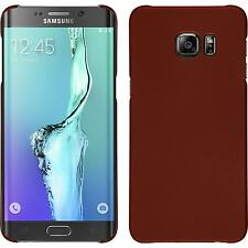 Hardcase Samsung Galaxy S6 Edge Plus rubberized red Cover Case