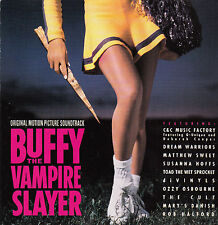 Buffy The Vampire Slayer-1992-Original Movie Soundtrack-10 Track-CD