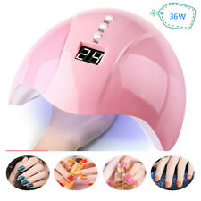 36W Nail Art USB Nail Lamp UV 12 led Light Nail Gel Dryer Curing Polish Machine