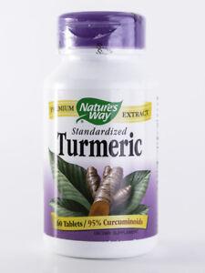 Nature's Way - Turmeric Standardized - 60 Tablets - Anti-Inflammatory - Herb