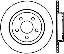 Disc Brake Rotor-Sedan Rear Left Stoptech 127.62064CL
