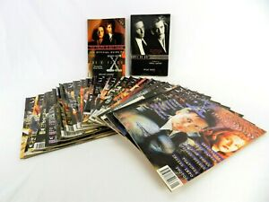 THE X FILES MANGA 1995 MAGAZINE ISSUE 1 - 24  PLUS x2 BOOK & SPECIAL ED MAGS