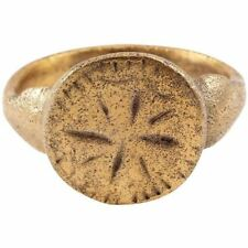 Fine Medieval Man'S Ring, 12th-13th Century Size 11 ½
