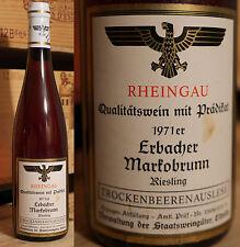 1971er Lauterbacher markobrunn-Riesling secco di bacche florilegio-stato beni di vino