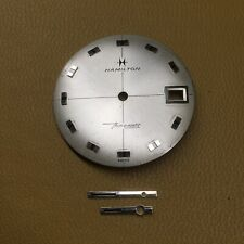 Vintage HAMILTON Thin-O-Matic Watch Dial And Hands.