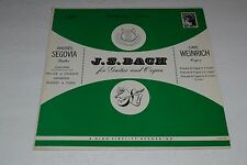 J.S. Bach for Guitar and Organ~Andres Segovia~Carl Weinrich~FAST SHIPPING