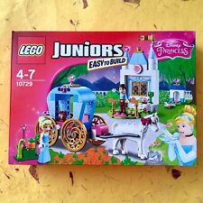 RARE✨LEGO Juniors Disney Cinderella's Carriage 10729 NEW•SEALED•RETIRED GIFT TOY