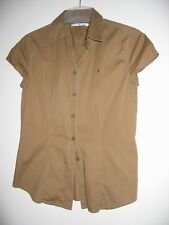 TOMMY HILFIGER Damen Kurzarm Bluse Shirt Hemd Gr.6