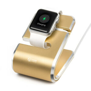 VAWiK Production master charger stand aluminum gold for Apple Watch ε