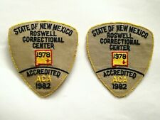 State Of New Mexico Roswell Corrections Patches