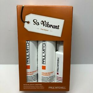 Paul Mitchell So Vibrant Gift Set Shampoo/Conditioner/Sculpting Spray