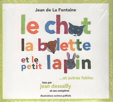 Fables de Jean de La Fontaine: Le Chat, La Belette et le Petit Lapin (CD) Sealed