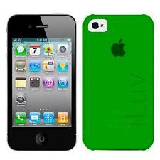 Custodia per iPhone 4/4S Colore Verde iLuv con pellicola schermo in omaggio