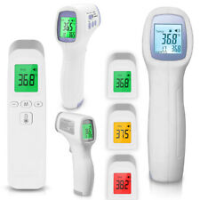 Fieberthermometer Kontaktlos Infrarot Thermometer LCD Stirnthermometer Ohr Baby