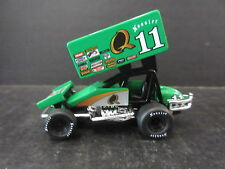 """#11 Steve Kinser #King of the Outlaws"""" Diecast Sprint Car -- 1/64th scale"""