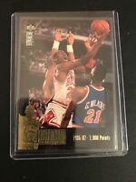 ^ Michael Jordan - 1995 Upper Deck Collector's Choice JC2 NBA-Chicago Bulls-HOF