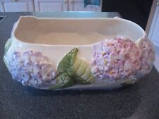 Vintage Jay Willfred for Andrea by Sadek Hydrangea Design Planter Portugal Rare