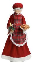 Mrs. Clause Motionette Sound Lighted Animated Figure Xmas Decor Gingerbread