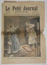 "Le Petit Journal Nr. 303 - Des 6 September 1896 "" Der Mystery De La Rue Brunnen"