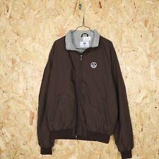 NORTH SAILS Small Logo Zip Up Sweatshirt Brown   XL