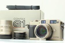 [N MINT w/ BOX] Contax G1 + 45mm f/2 + 90mm F/2.8 From JAPAN