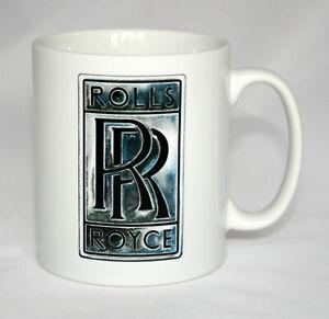 Car Badge Mug. Rolls Royce badge illustration