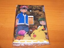 POKEMON PIKACHU AND ASH KETCHUM LIGHT SWITCH PLATE #3